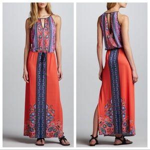 Clover Canyon | Scarf-Print Maxi Dress